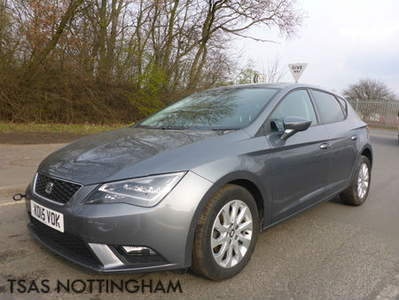 2015 seat leon 1 6 tdi 105 auto dsg se tech pack grey damaged salvage cat d in pinxton. Black Bedroom Furniture Sets. Home Design Ideas
