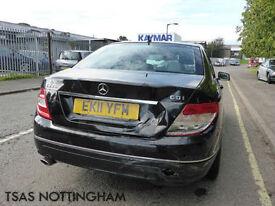 2011 Mercedes-Benz C Class C220 CDI Blue F Auto Elegance Damaged Salvage