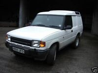WANTED Landrover discovery 300 tdi commercial project repair parts offroad