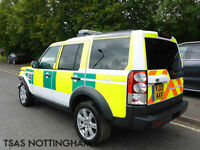 2013 Land Rover Discovery 4 3.0 TDV6 210 Bhp Auto Ambulance Damaged Salvage