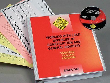 MARCOM V000LDS9EO OSHA Lead Standards for Industry DVD