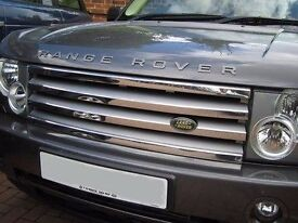UPGRADED RANGE ROVER VOGUE FRONT GRILL