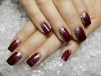 Gel Nail manicure & pedicure services-book today!