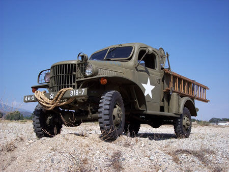 1941 Dodge Other Pickups  WWII Dodge WC-43 Telephone Installation truck