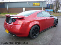 2007 Nissan Skyline GT 350 Auto Damaged Repaired With Body Kit