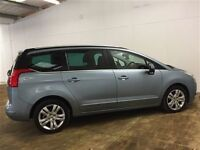 Peugeot 5008 EXCLUSIVE HDI-Finance Available to People on Benefits and Poor Credit Histories-