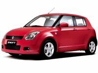 SUZUKI SWIFT 1.3 GLX 5dr (red) 2009