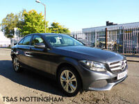 2015 Mercedes-Benz C Class C200 181 BHP 7G-Tronic Plus SE Damaged Salvage CAT D