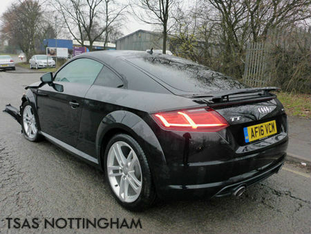 2016 audi tt coupe sport 2 0 tdi ultra 184 diesel damaged. Black Bedroom Furniture Sets. Home Design Ideas