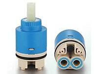 Ownace 35mm Ceramic Disc Plastic Bathroom Basin Shower Lever Mixer Tap Inner Cartridge SmokePet Free