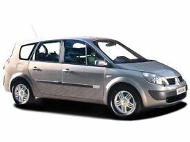 RENAULT GRAND SCENIC 1.5 dCi Dynamique 5dr (green) 2004