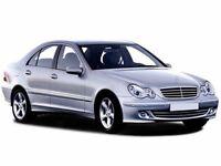 MERCEDES-BENZ C CLASS C220 CDI Avantgarde SE 4dr Auto (black) 2005