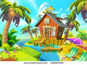 Fun Roomate Wanted-Free Rent-Waterfront Cottage -Mermaid (READ