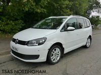 2015 Volkswagen Touran SE 1.6 TDI BMT White Damaged Salvage 100% NOT RECORDED