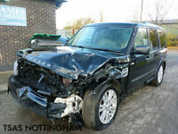 2010 Land Rover Discovery 4 HSE SDV6 Black Damaged Chassis And Shell I.D SALVAGE