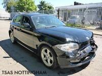 2010 *60* BMW 1 Series 116D Sport Black Damaged Salvage DIESEL