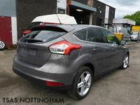 2015 Ford Focus 1.6 Ti-VCT 125 Powershift Titanium CAT D Damaged Salvage