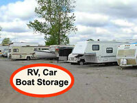 Outdoor Parking for Cars, RV's, Boats & Trailers