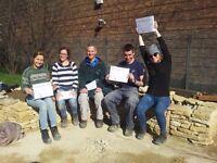 A Dry Stone Walling Workshop in London