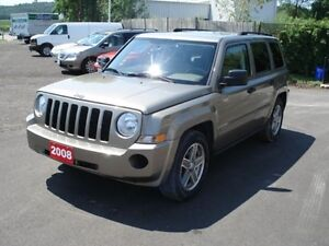 2008 Jeep Patriot north edition SUV SAFETIED AND E-TESTED!