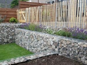 Gabions Basket Garden Retaining Wall Water Erosion flood Control