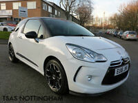 2016 Citroen DS 3 1.2 PureTech 110 DStyle DS3 Nav White Damaged Repaired
