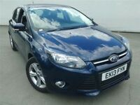 Ford FOCUS ZETEC 125 AUTO-Finance Available to People on Benefits and Poor Credit Histories-