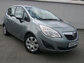Vauxhall MERIVA EXCLUSIV CDTI -Finance Available to People on Benefits and Poor Credit Histories-