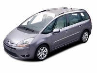 CITROEN C4 GRAND PICASSO 1.6 16V VTi VTR Plus 5dr (black) 2009