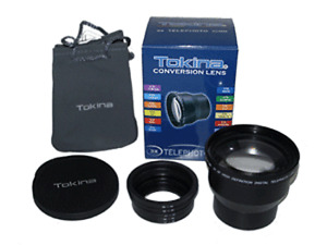 Tokina 3 X Telephoto Conversion Lens 52mm