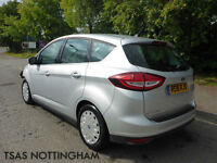 2016 Ford C-Max Zetec TDCi Silver Damaged Salvage