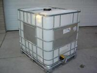 Plastic Totes/Tanks with metal Cages (Updated 19 July 2014)