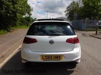 2015 *65* Volkswagen Golf R-Line TSI 150 ACT BMT White Damaged Salvage