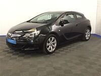 Vauxhall ASTRA GTC SPORT S/S - Finance Available to People on Benefits and Poor Credit Histories-