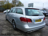 2016 Mercedes-Benz E Class E220 CDI 177 BlueTEC 7G-Tronic+ Damaged Salvage CAT D