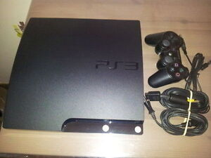 160GB PLAYSTATION 3 SLIM FOR SALE INCLUDES CONTROLLER