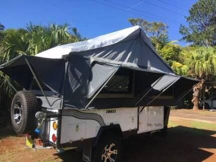 Skamper Kamper Forward Fold camper trailer Mullumbimby Byron Area Preview