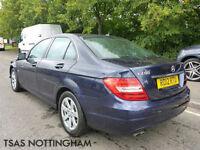 2012 *12* Mercedes-Benz C Class C200 CDI Blue F SE Damaged Salvage