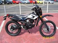 2010 model the make is a shineray xy125gy black