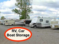 Outdoor Parking for Cars, RV.'s, Boats, Campers and Trailers