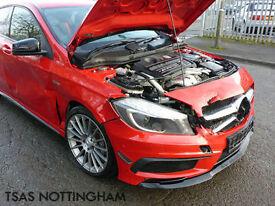2015 Mercedes-Benz A45 AMG 2.0 360 4MATIC 7G-DCT Damaged Salvage