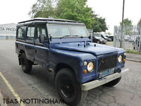 1976 Land Rover Estate NOT DAMAGED SALVAGE - STOLEN RECOVERED