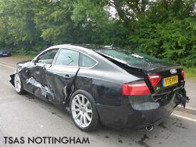 2015 Audi A5 2.0 TDI SE Technik 177 Sportback Damaged Salvage