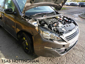2015 *65* Peugeot 308 Blue HDi 120 Bhp Active 100% NOT RECORDED Damaged Salvage