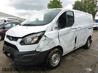 2014 *64* Ford Transit Custom ECOnetic 270 L1H2 2.2 TDCi 100 Damaged Salvage