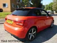 2013 Audi A1 Amplified Edition 1.4 TFSI 122 Red Damaged Repaired CAT D