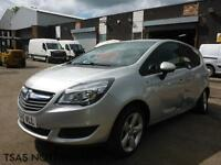 2015 *65*Vauxhall Meriva Exclusiv 1.4i 16v 100 A/C Damaged Salvage