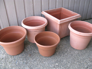 Looking for old plant pots