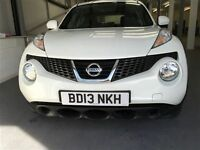 Nissan JUKE VISIA-Finance Available to People on Benefits and Poor Credit Histories-
