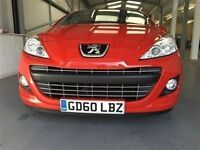 Peugeot 207 GT CC-Finance Available to People on Benefits and Poor Credit Histories-